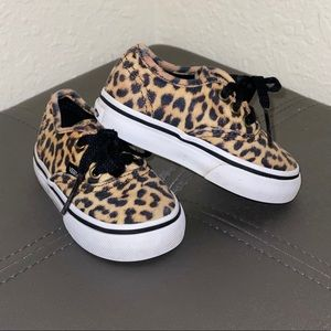 VANS Cheetah Print Toddlers